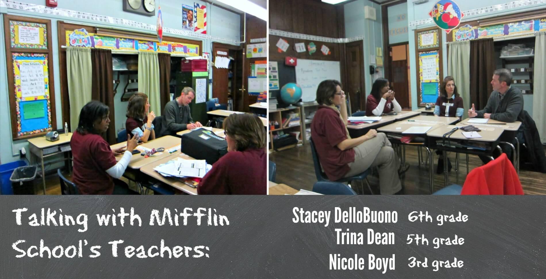 East Falls Local.MEeting with Mifflin teachers2