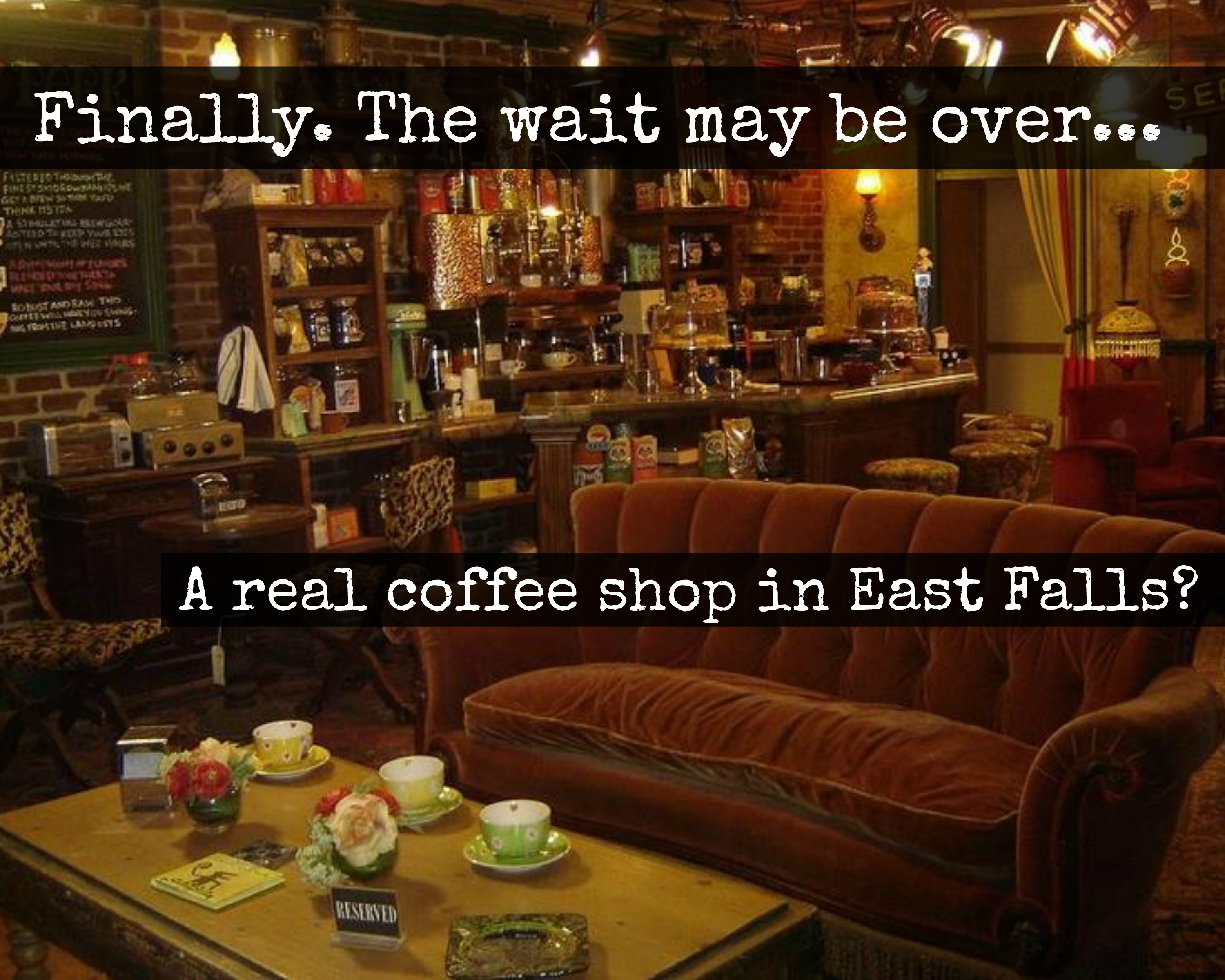 EastFallsLocal a real coffeeshop in East Falls