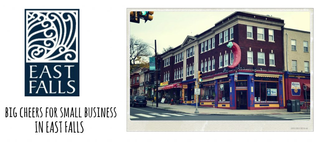 EastFallsLocal collage big cheers small business