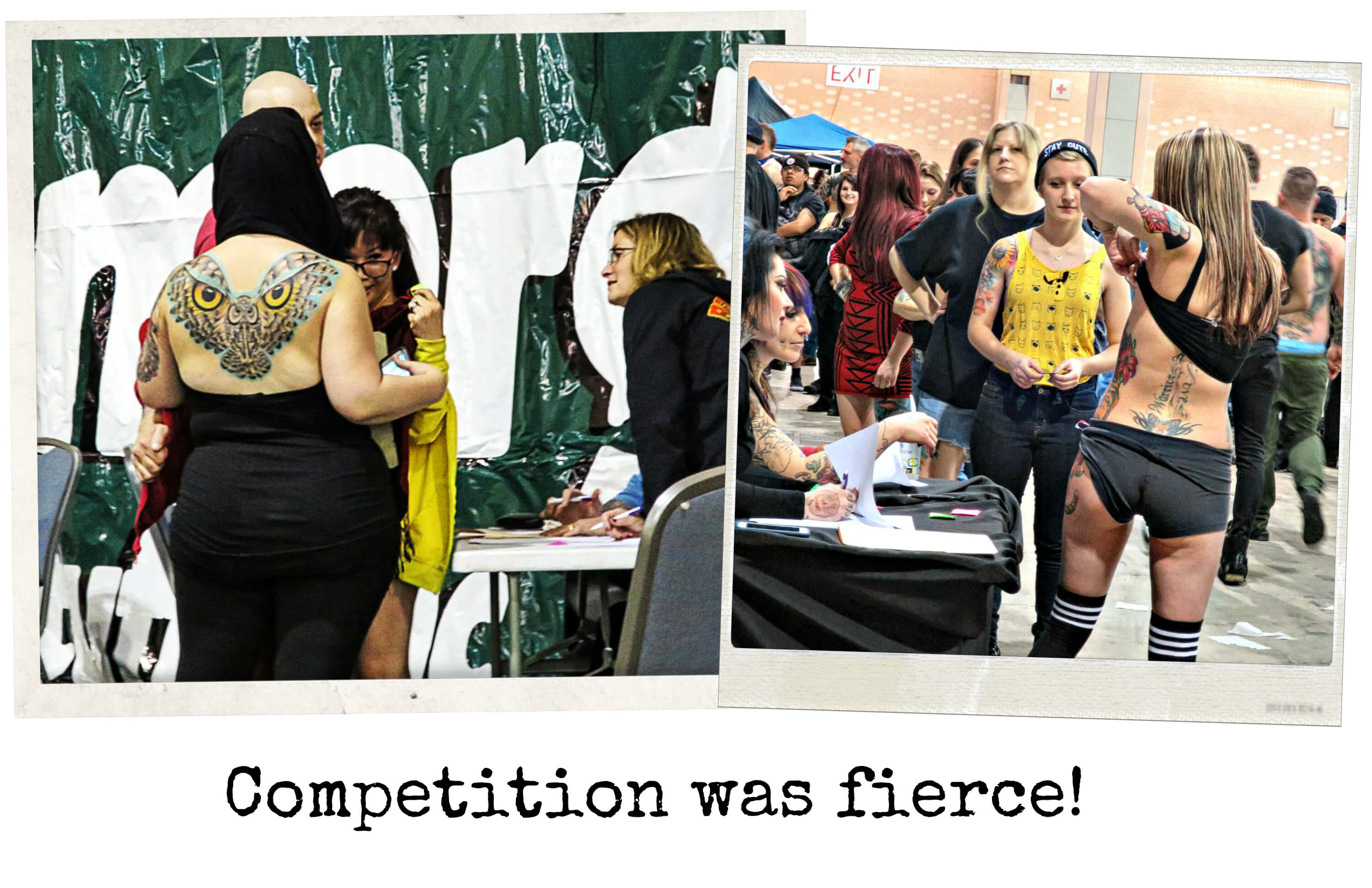 EastFallsLocal collage update Phila Tattoo Convention competition fierce