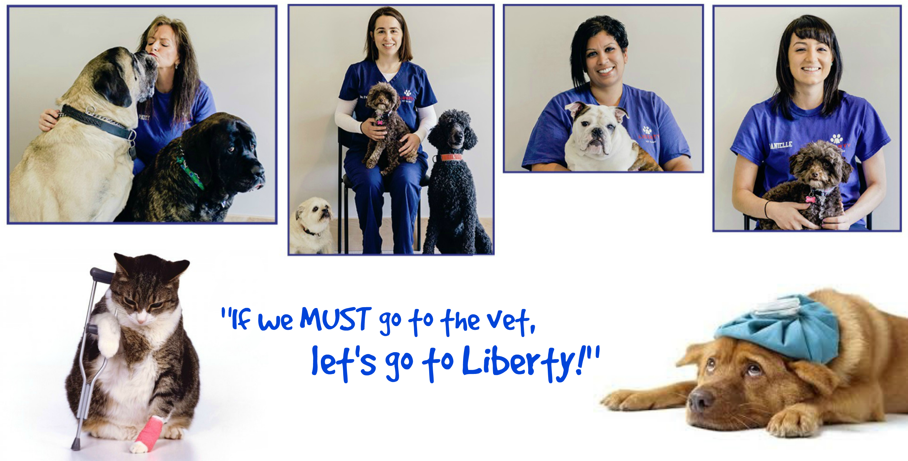 EastFallsLocal If We Must Go to the Vet collage