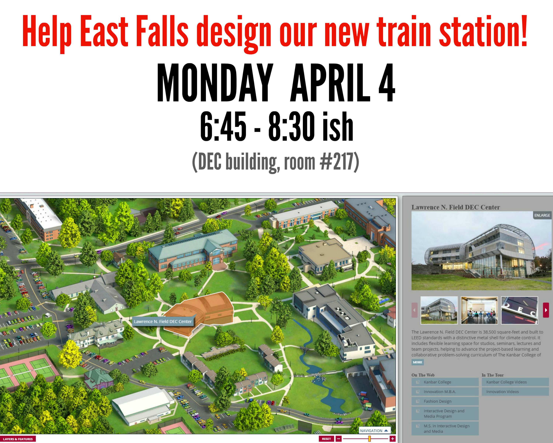 EastFallsLocal PHillyU map DEC building highlighted text