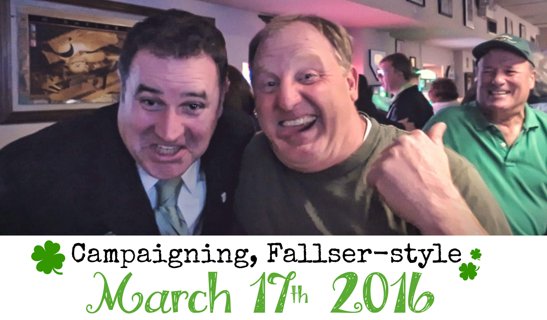 EastFallsLocal campaigning Fallser style