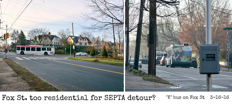 EastFallsLocal collage Fox street septa