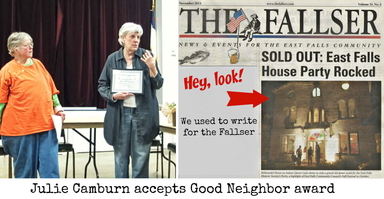 EastFallsLocal julie collage text