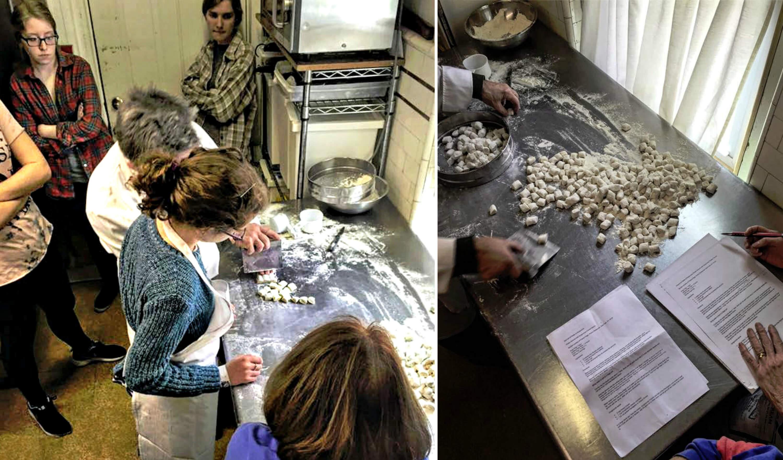Eastfallslocal collage fiorino franco cooking gnocchi