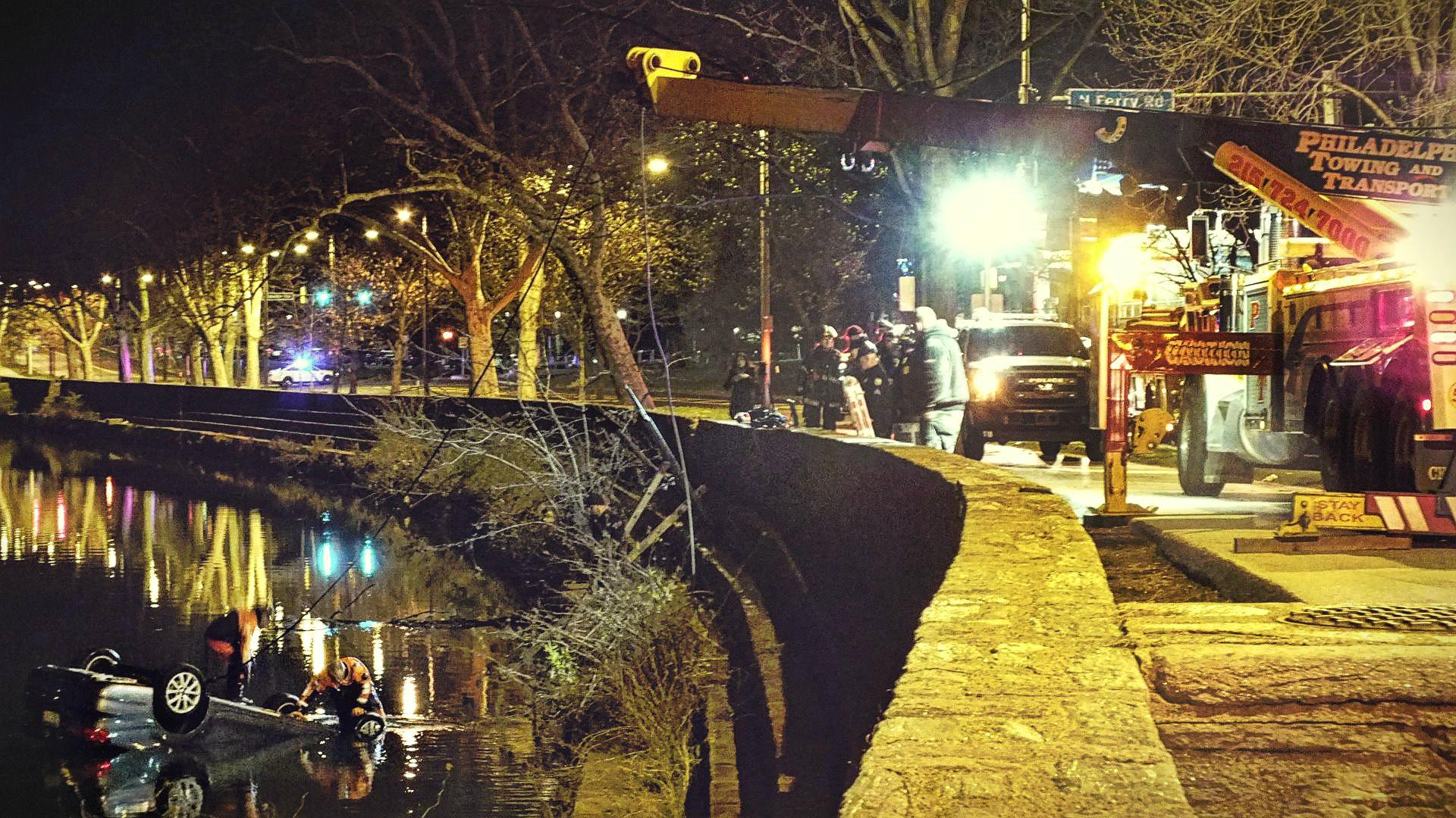 EastFallsLocal CAROLYN CARD SUTTON disaster on Kelly Drive divers haul