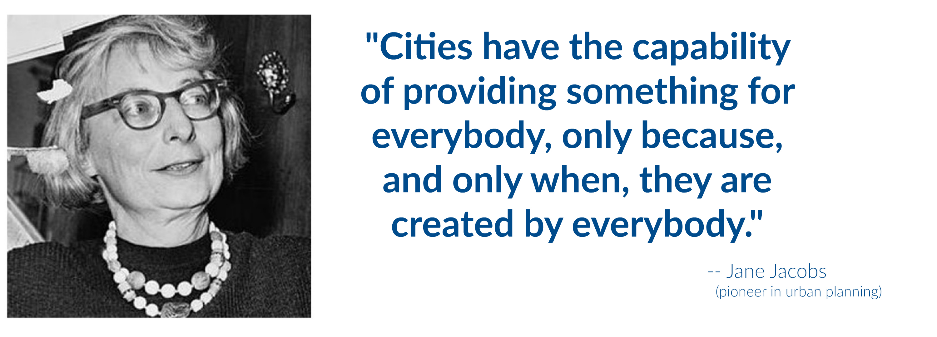 EastFallsLocal Jane Jacobs quote