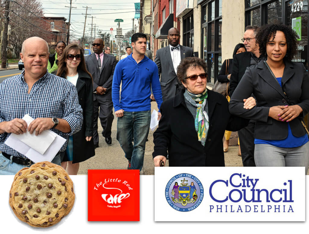 EastFallsLocal collage COOKIES coffee councilmen