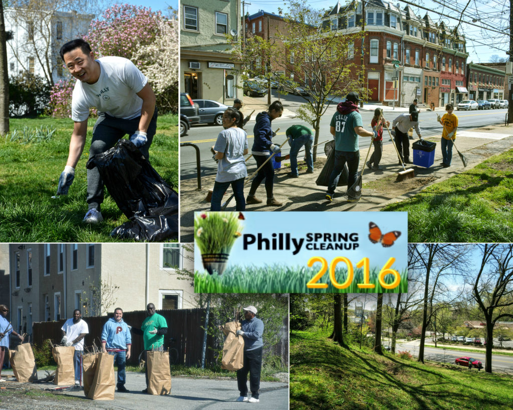 EastFallsLocal collage Philly Spring Clean 2016 txt year