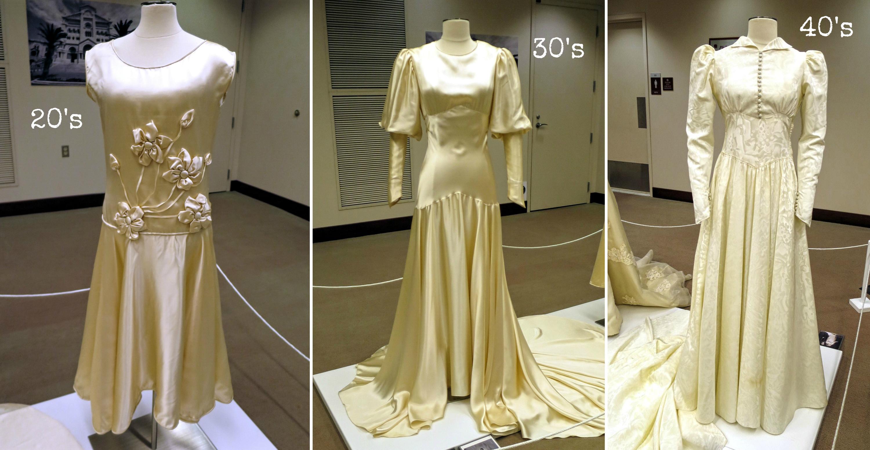 EastFallsLocal 20s 30s 40s collage wedding dress