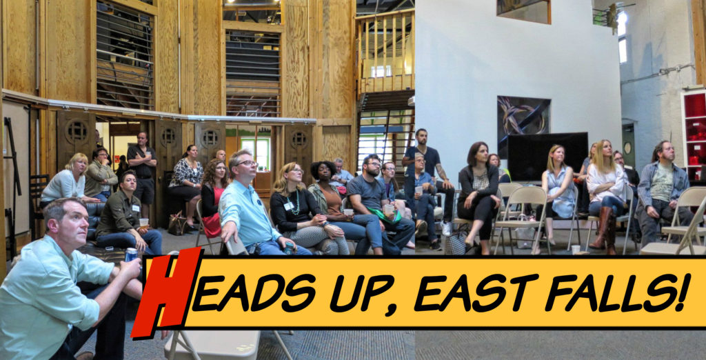 EastFallsLocal Heads Up East Falls