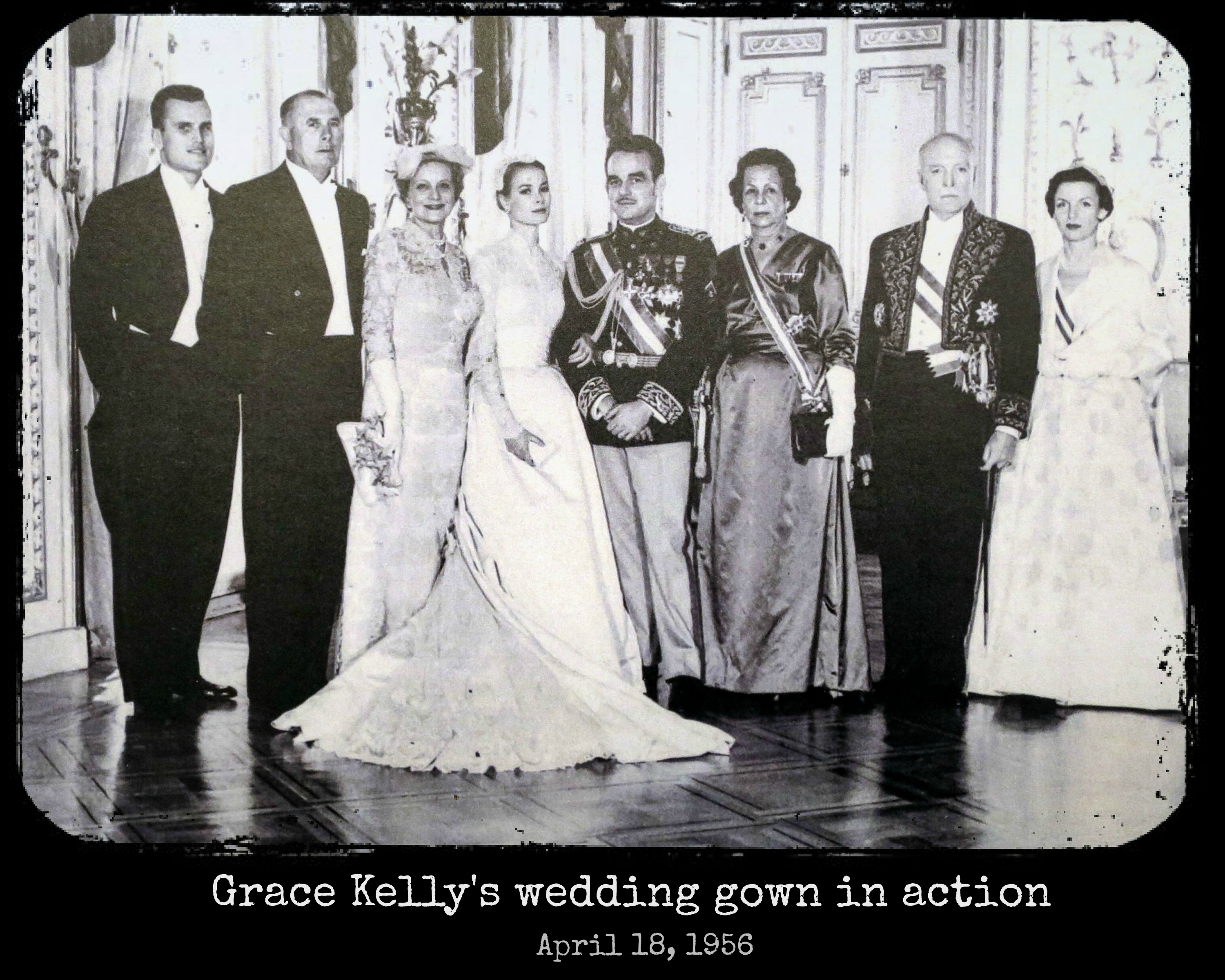 EastFallsLocal UPSTAIRS grace kelly wedding party historic pic RESIZE for FRAME txt
