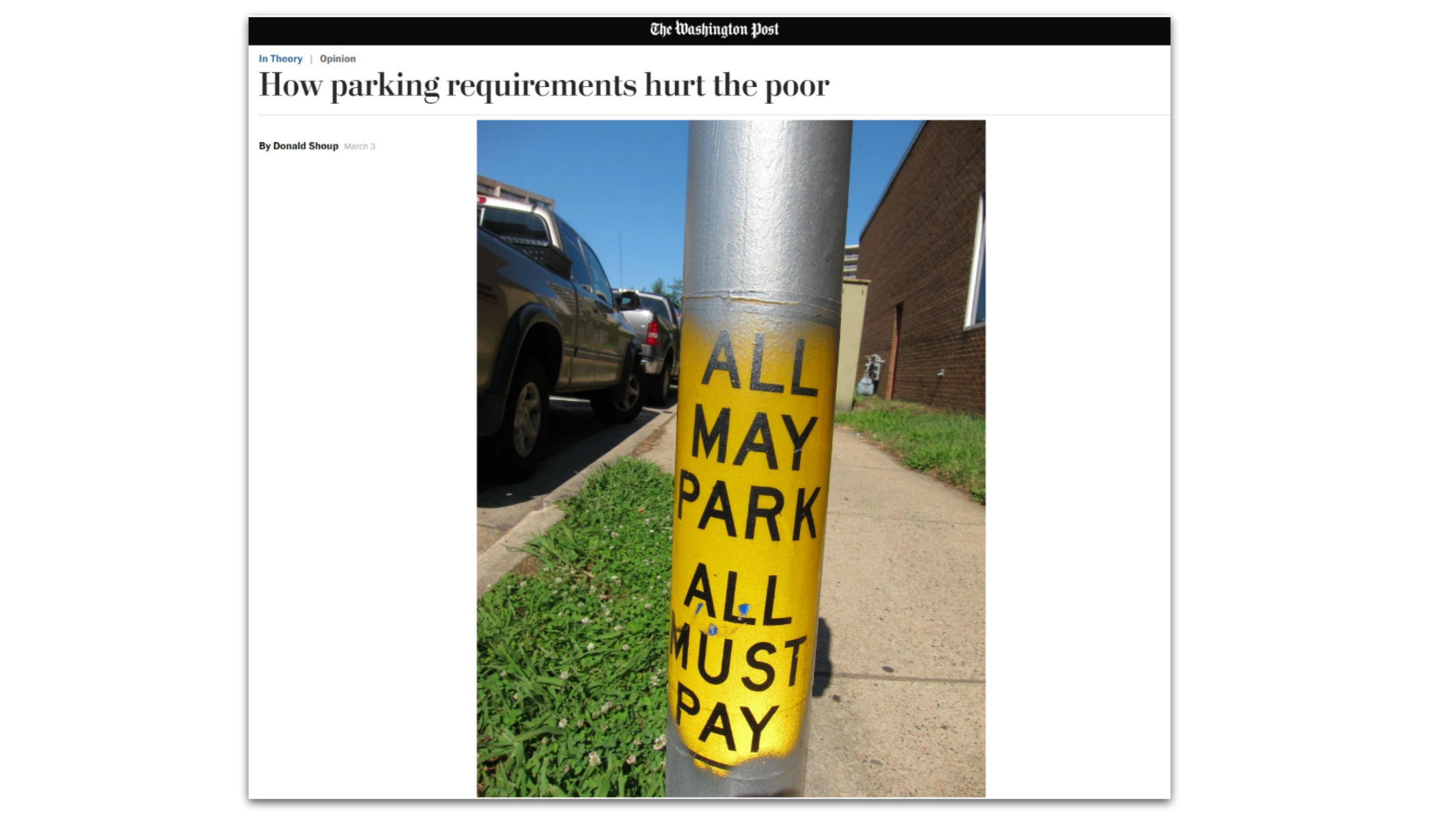 EastFallsLocal Washington Post hurt the poor parking require POST RESIZE