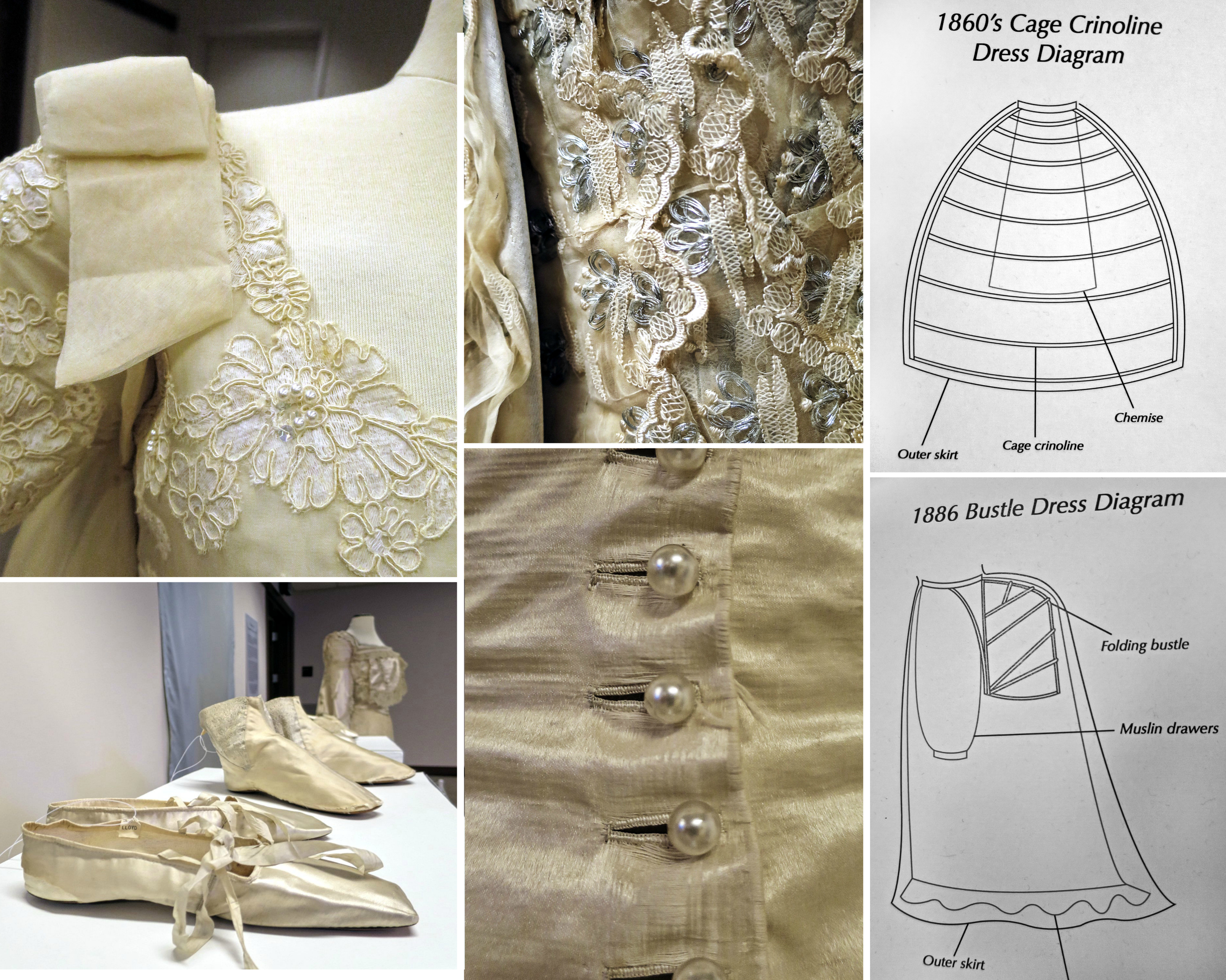EastFallsLocal collage historic wedding dresses features