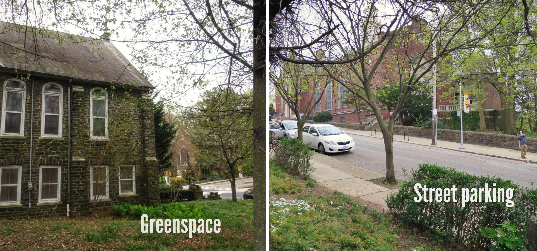 EastFallsLocal collage parking Redeemer friday 7 pm