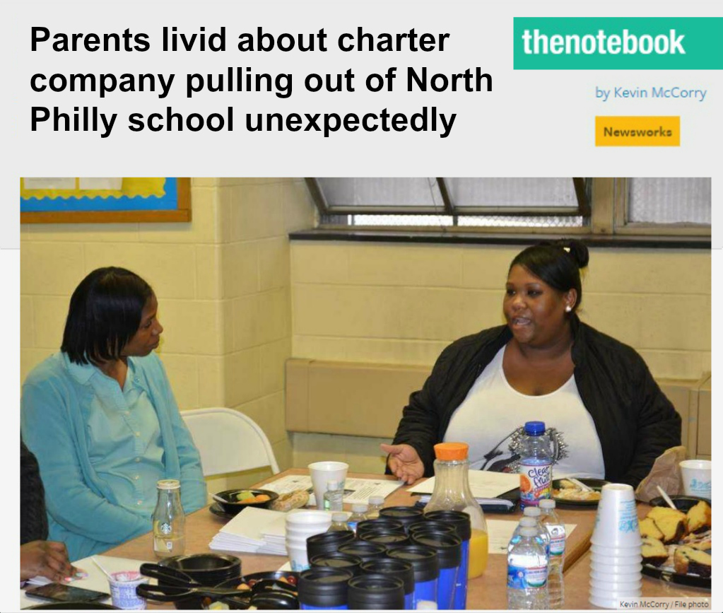 EastFallsLocal collage textparents livid charter pulls out