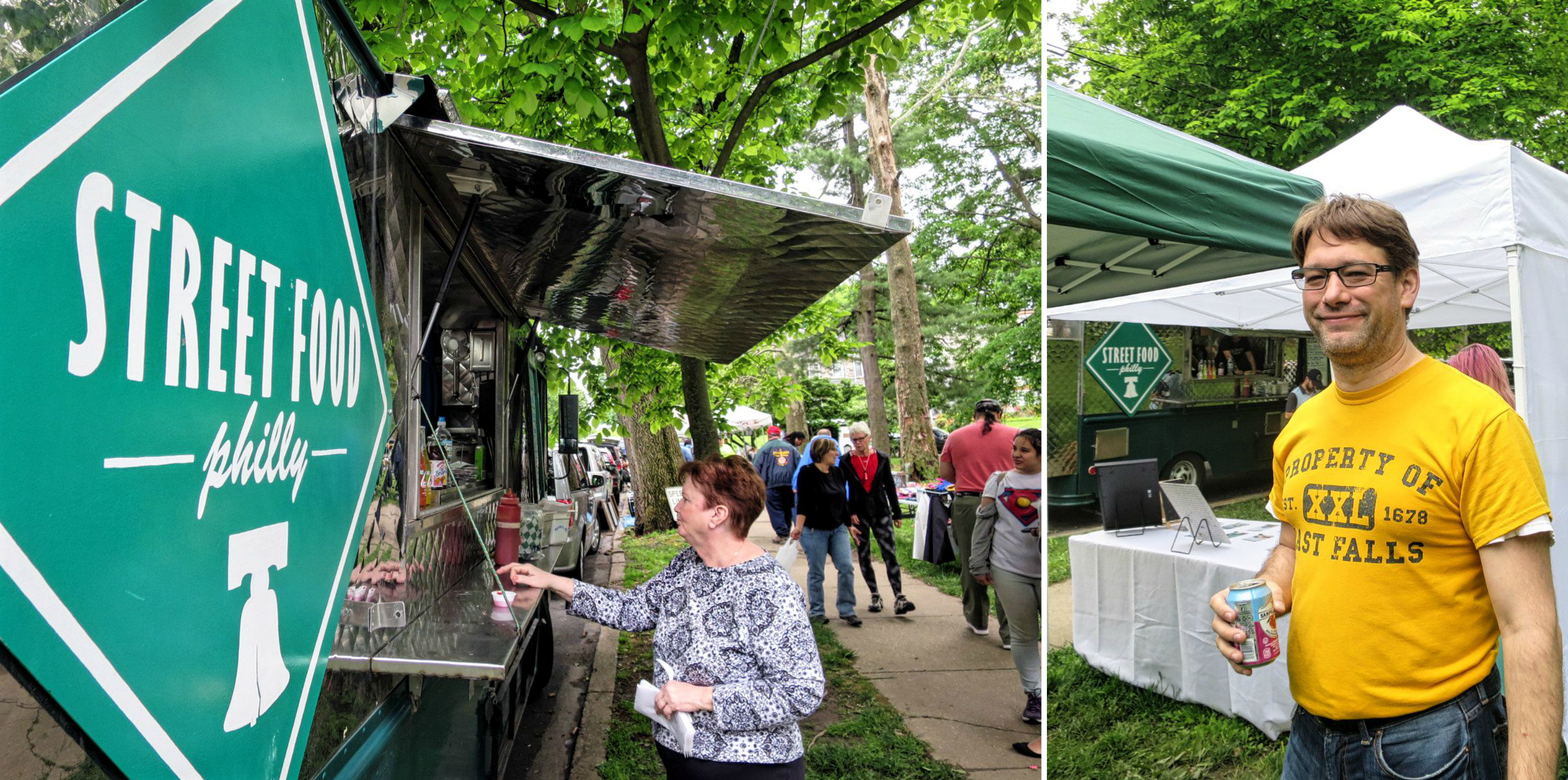 EastFallsLocal food truck collage