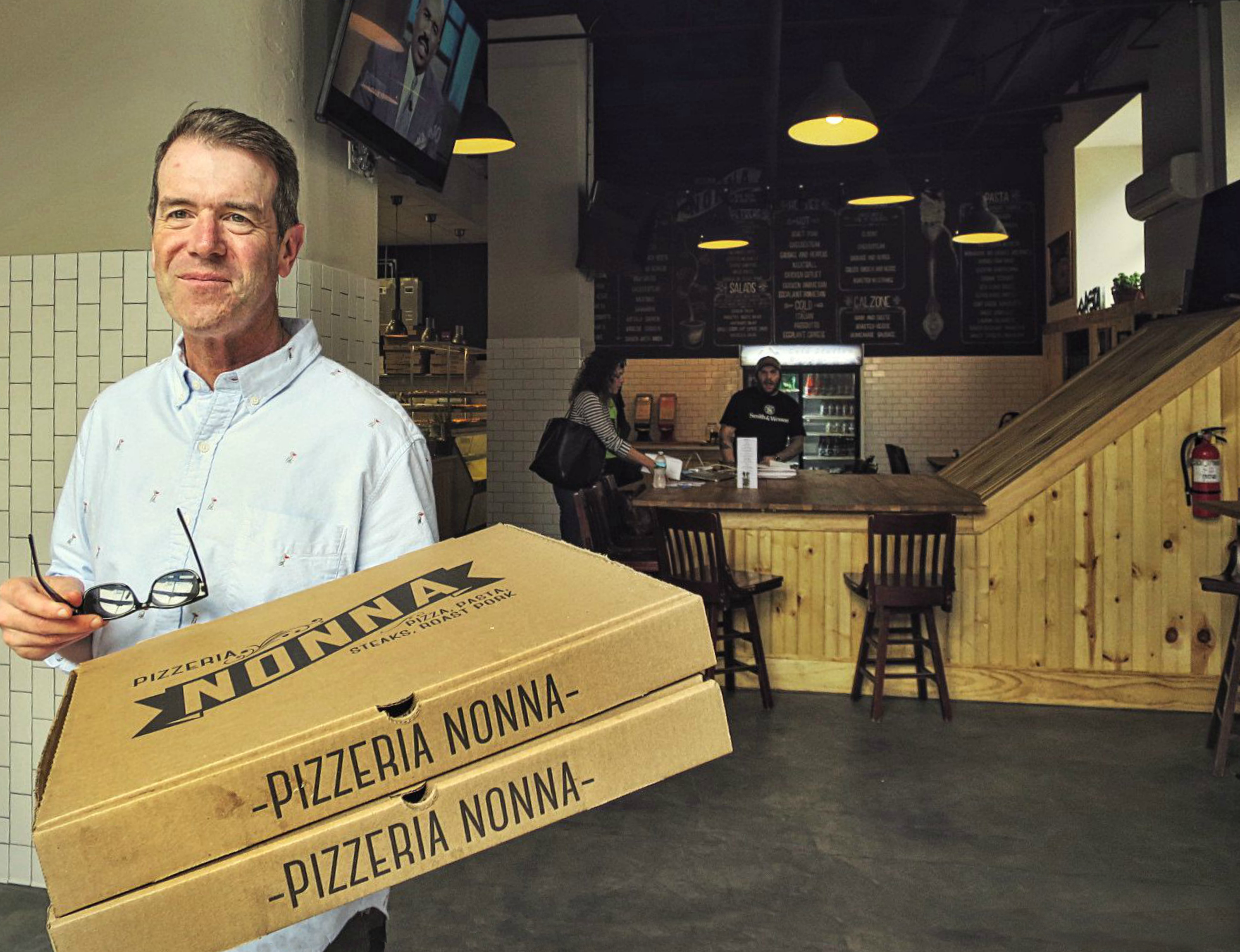 EastFallsLocal steve with nonnas pizza inside reize
