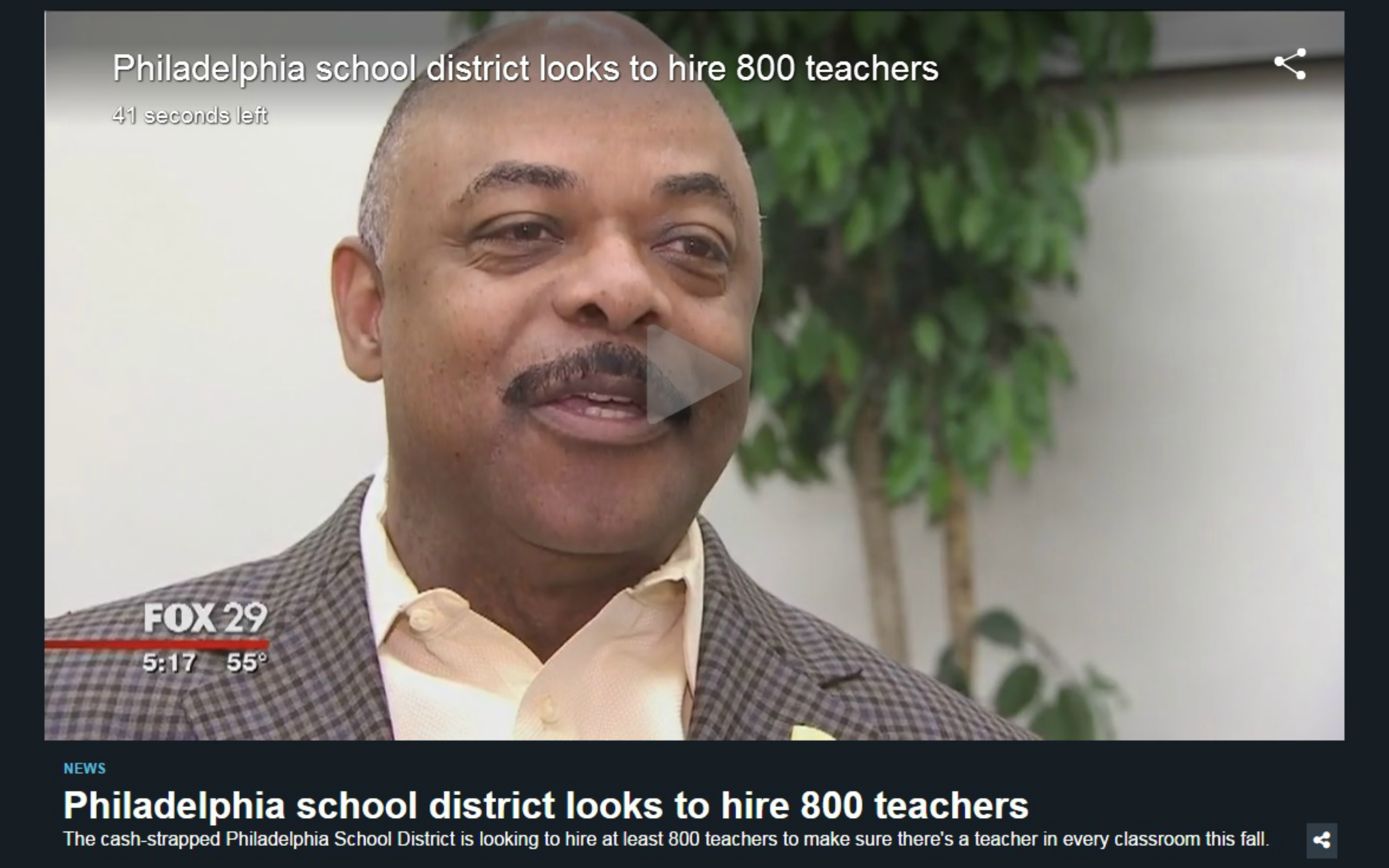 Eastfallslocal resize Video screenshot school district hiring 800 teachers