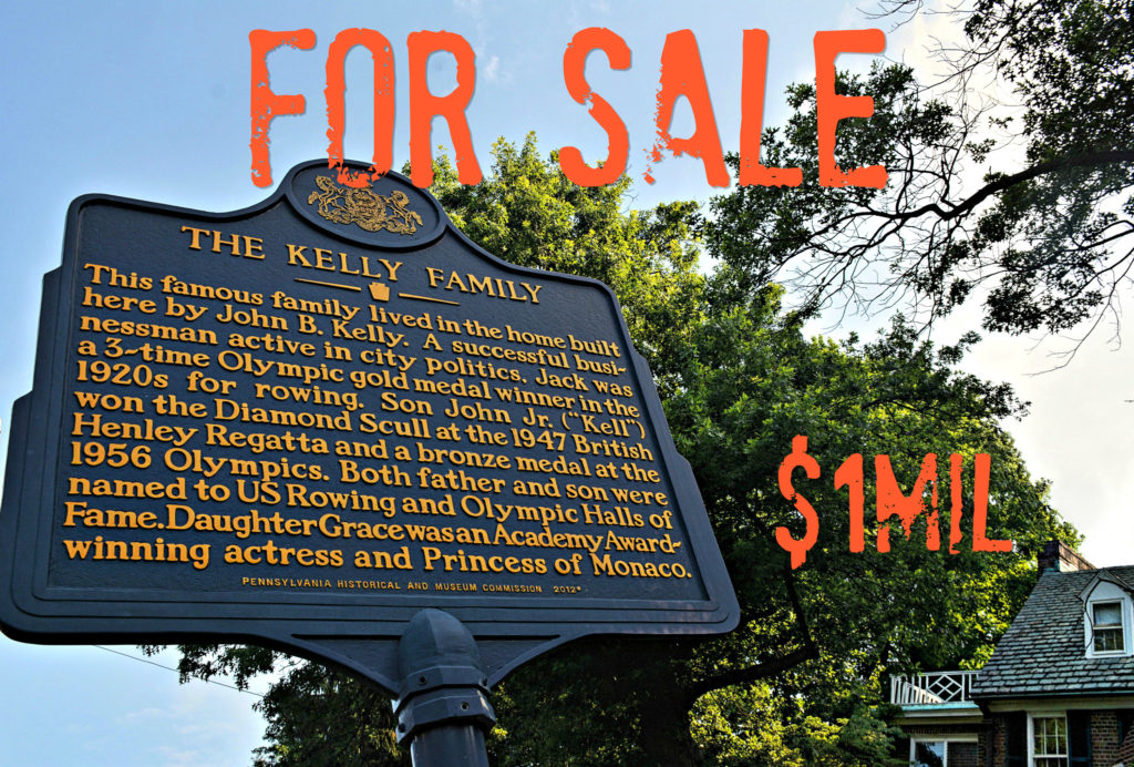EastFallsLocal Grace Kelly House sign drama FIX txt