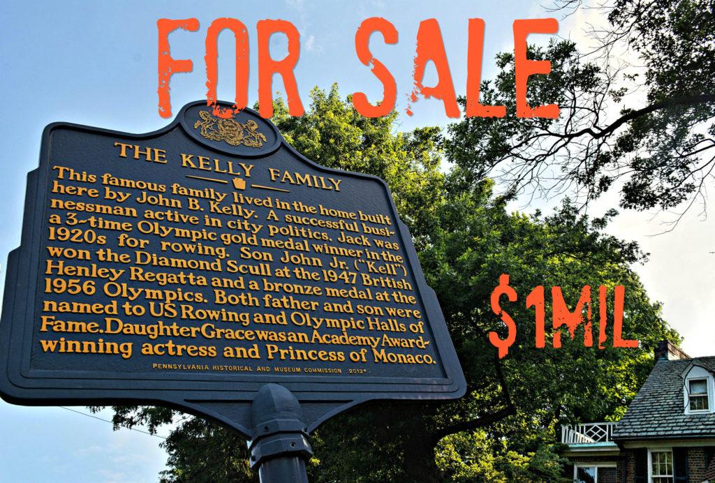 EastFallsLocal Grace Kelly House sign drama FIX txt