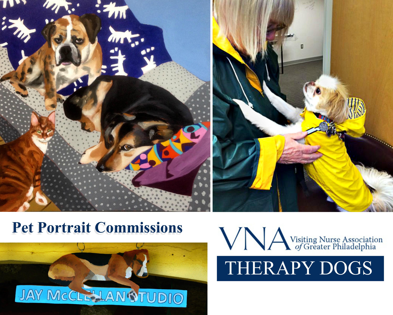 EastFallsLocal Jay VCA dog collage