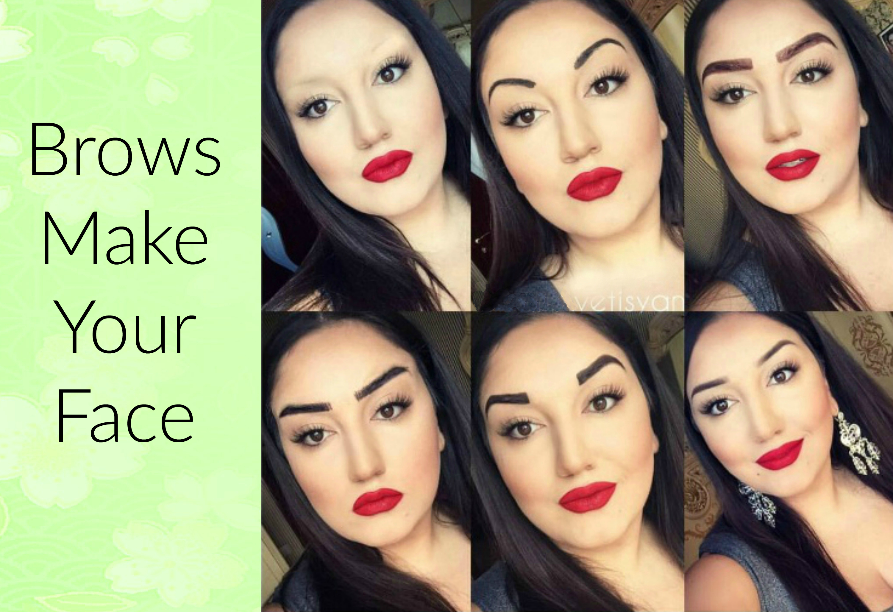 EastFallsLocal brows make your face collage txt