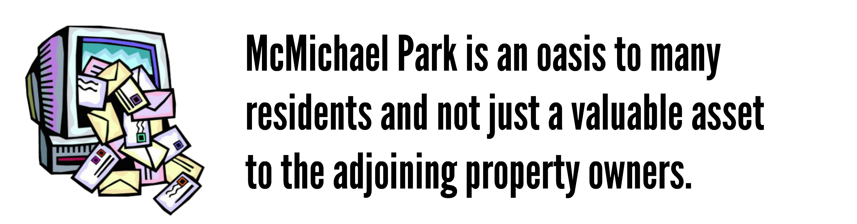 EastFallsLocal editorial Scott Cameron quote mcmichael more than just email