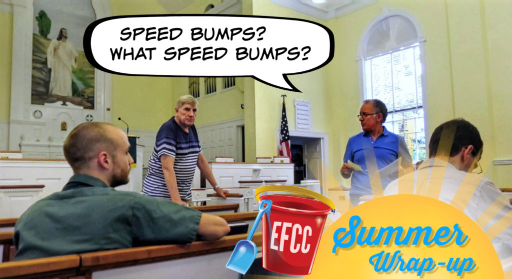 EastFallslocal meeting snapshot june 2016 Summer wrap up see you in sept Speedbumps what speedbumps