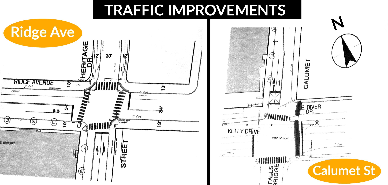 Eastfallslocal collage traffic improvements txt
