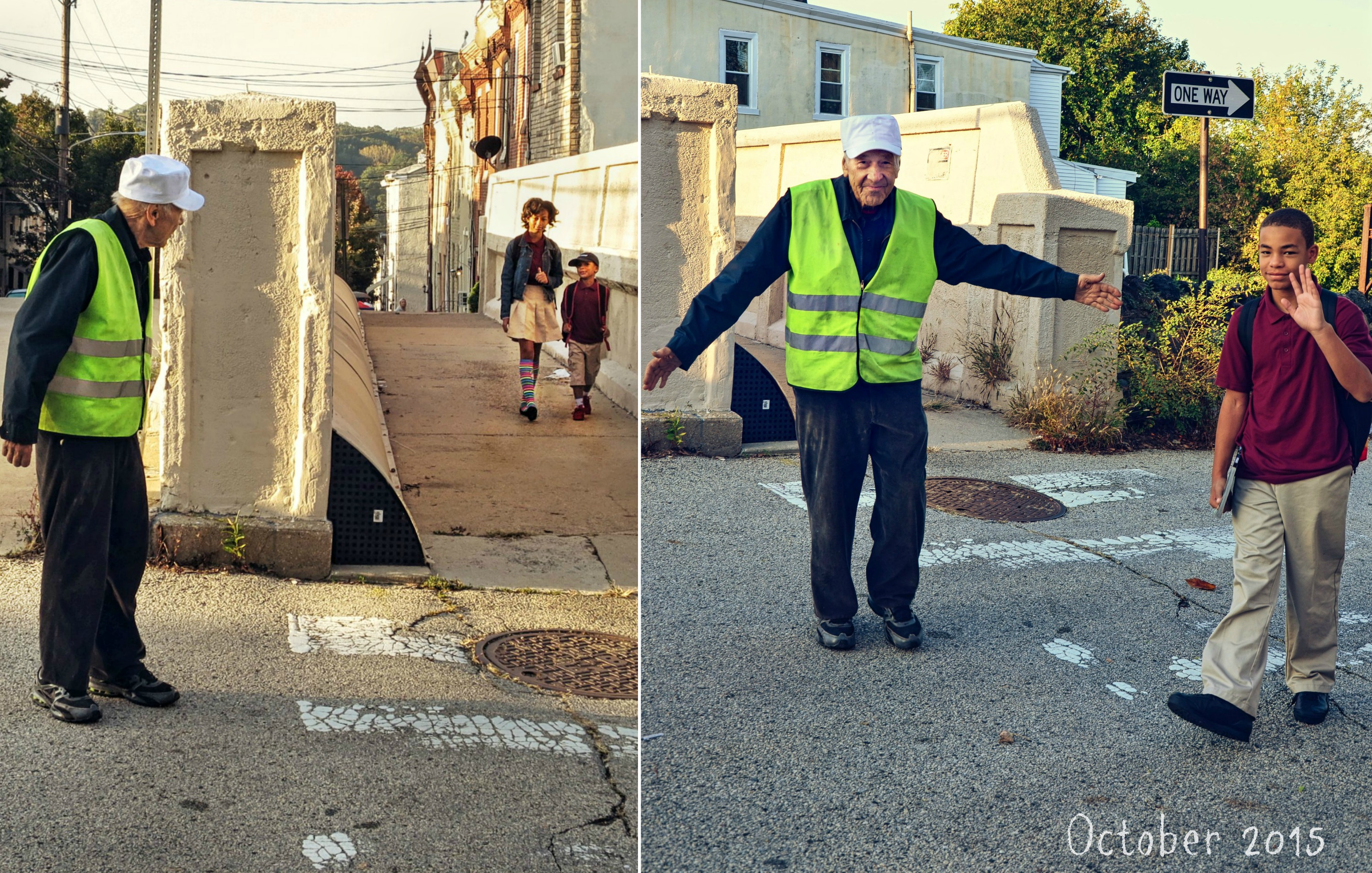 EastFallsLocal collage crossing guard