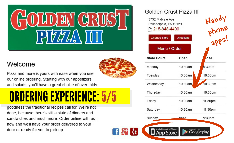 EastFallsLocal resize screen Shot Golden Crust ordering handy phone apps