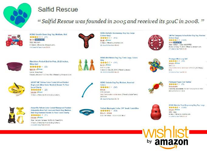 EastFallsLocal wish list salfid rescue amazon