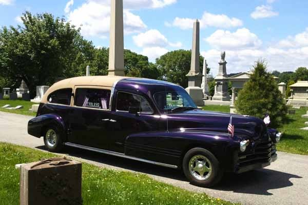 Hearse Show at Laurel Hill