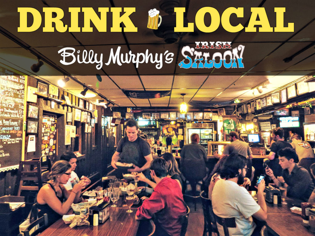 EastFallsLocal 8-17 john howie dude at bar 2 over bar scene DRINK LOCAL