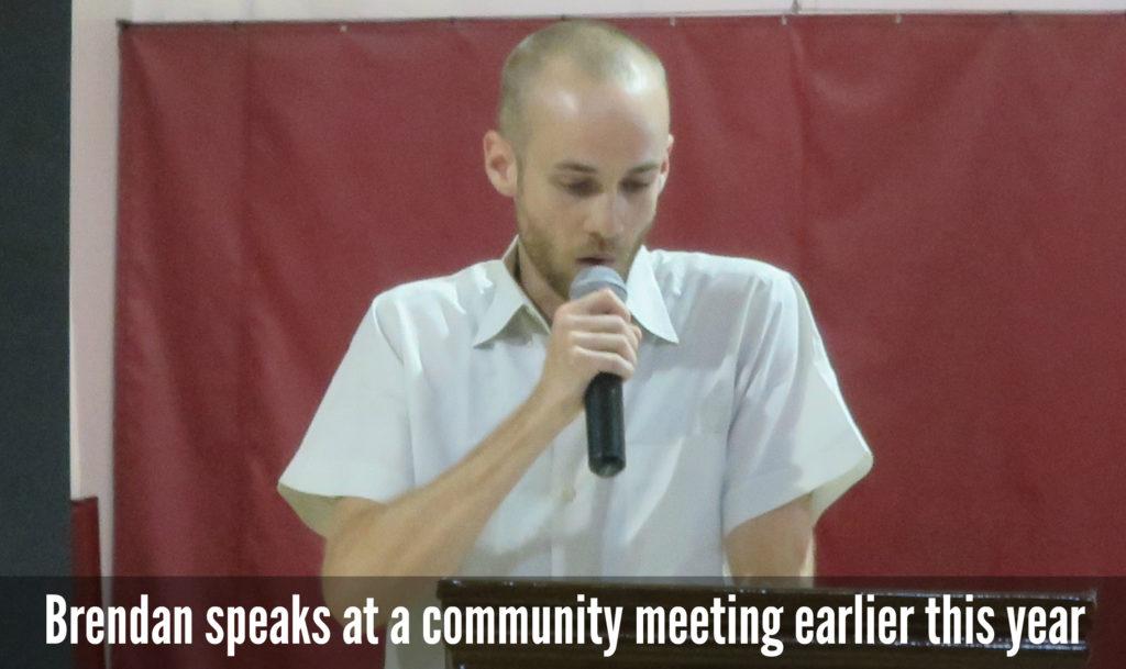 EastFallsLocal Brendan speaks at playground meeting last june