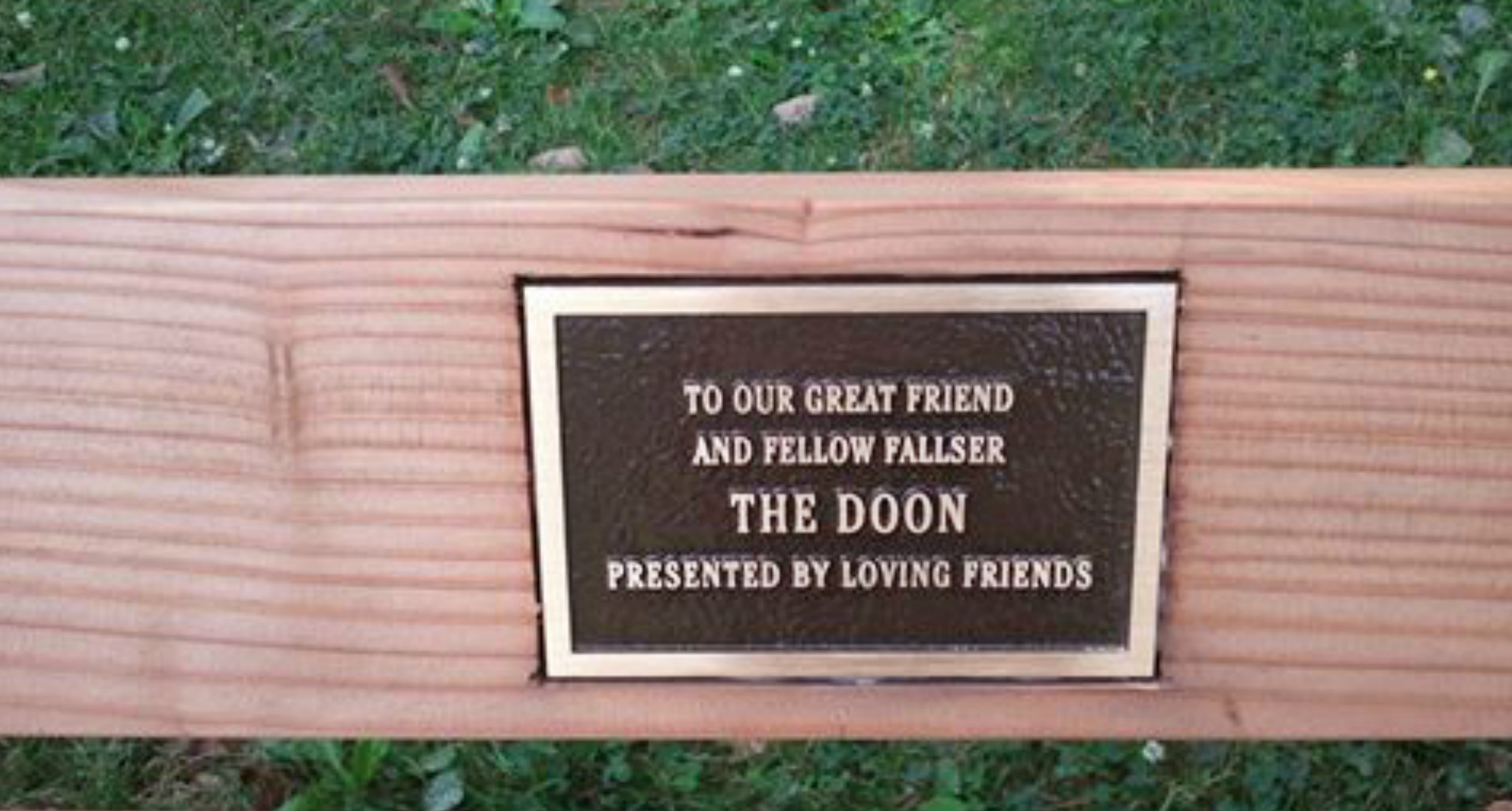 EastFallsLocal Jack Dooney the Doon bench