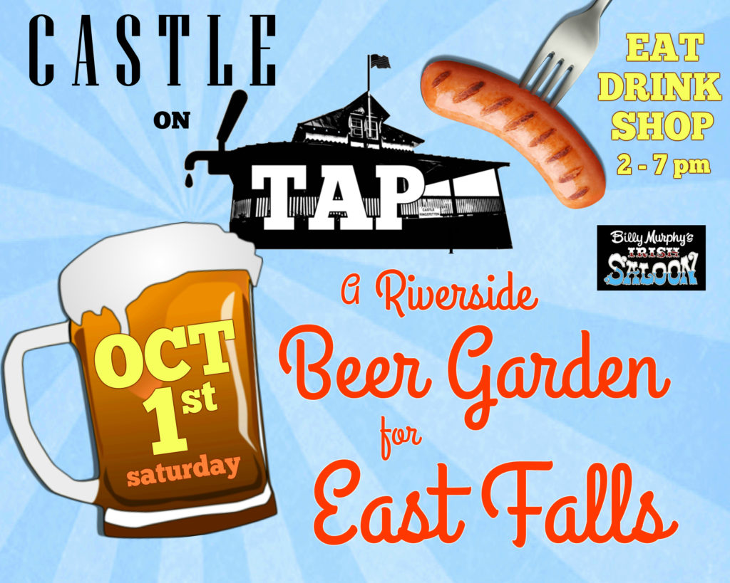 EastFallsLocal castle on tap mug sausage white fade murphy 2 to 7 pm A