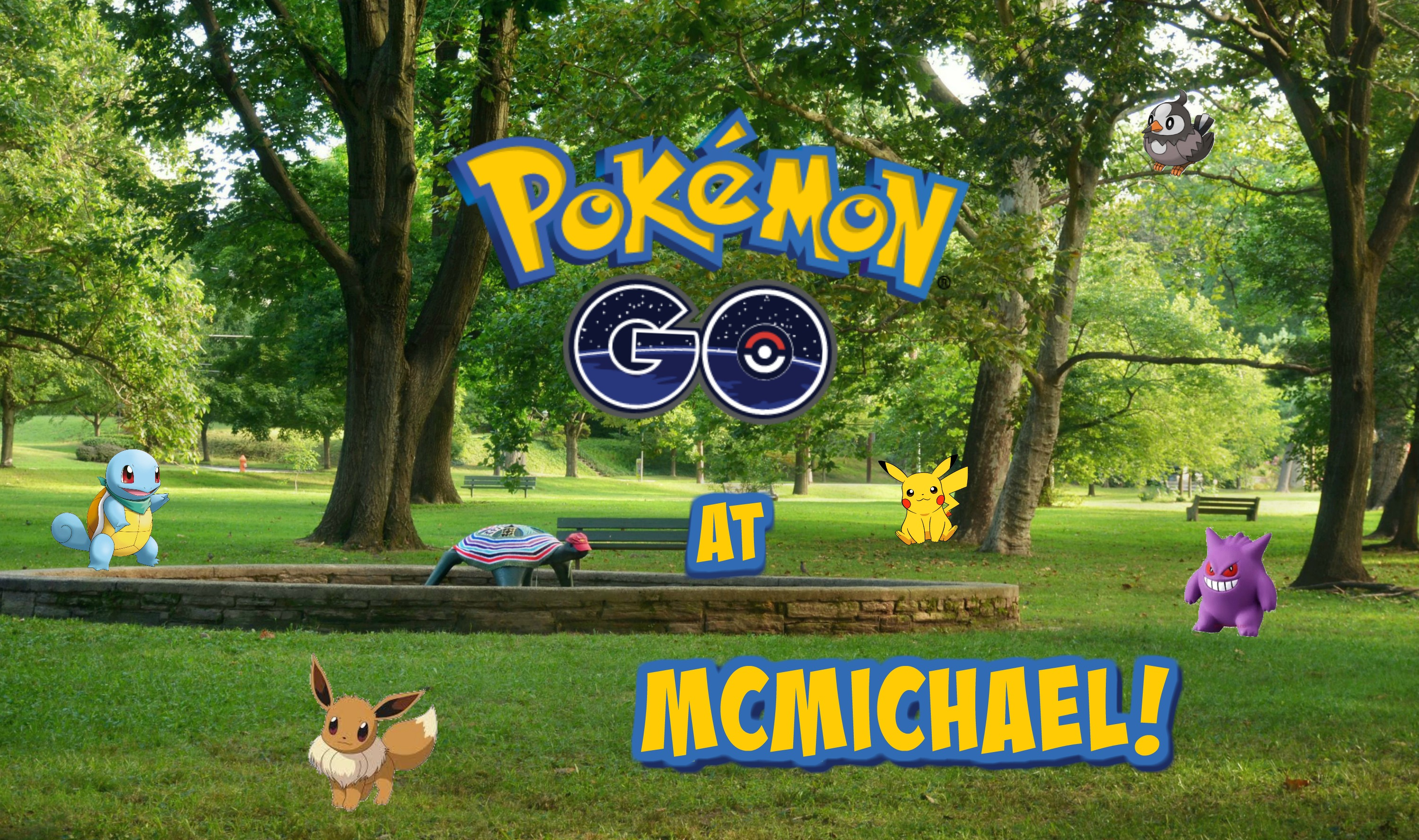 EastFallsLocal pokemon go at mcmichael 2