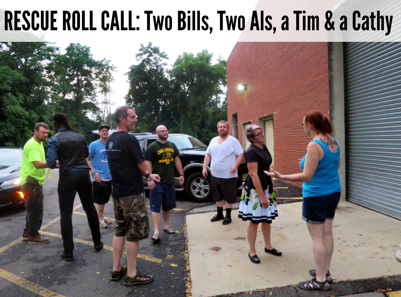EastFallsLocal rescue roll call