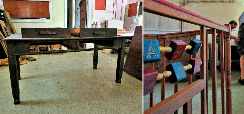 EastFallslocal library table collagge