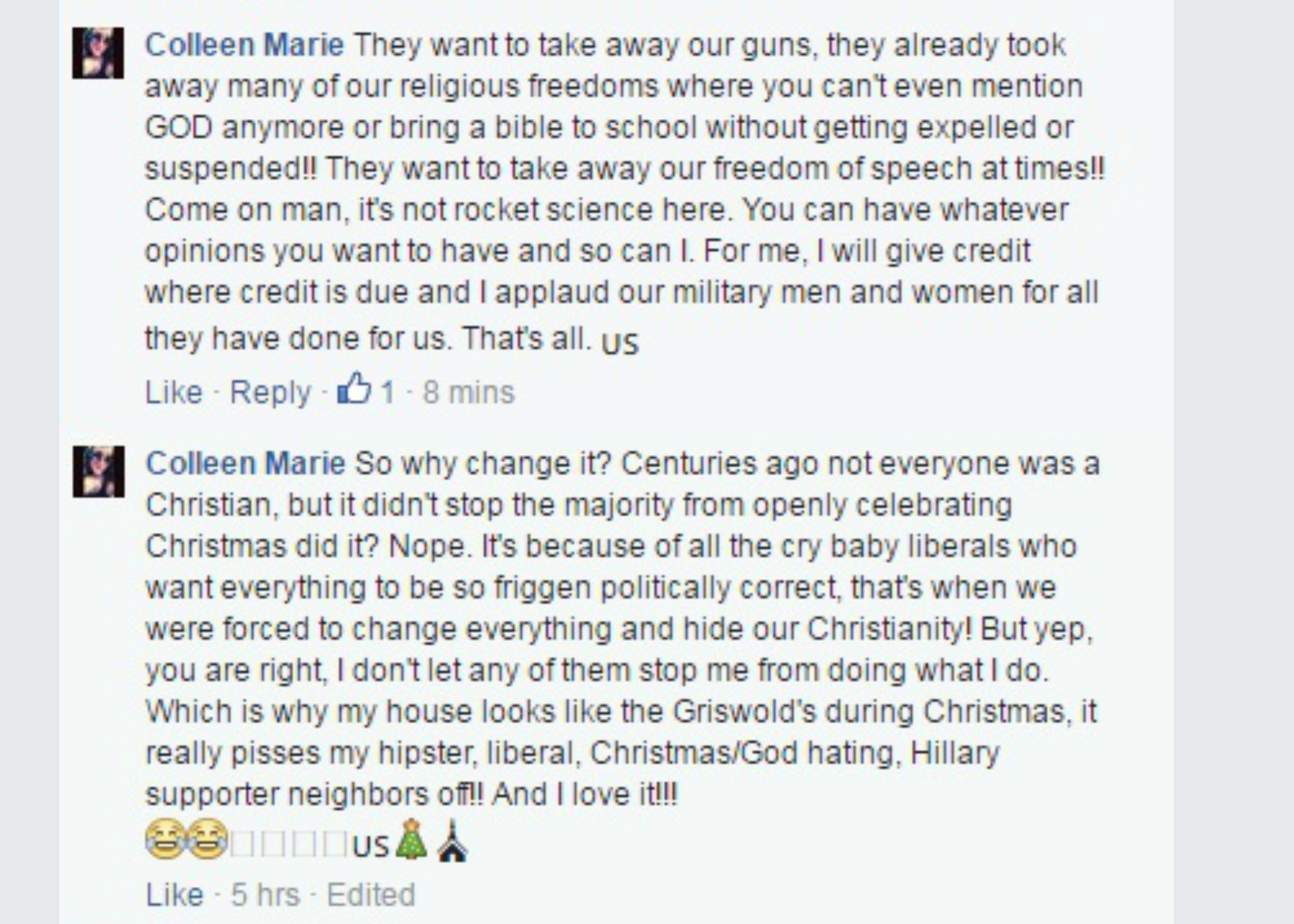 eastfallslocal-coll-marie-they-want-to-take-our-guns-christmas-etc