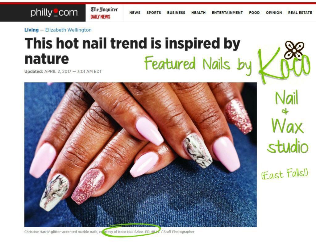 Fallser Fashion: Marble Nails – EastFallsLocal